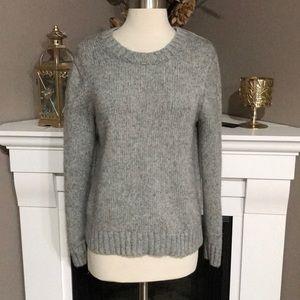 J. Crew Gray Wool Blend Sweater
